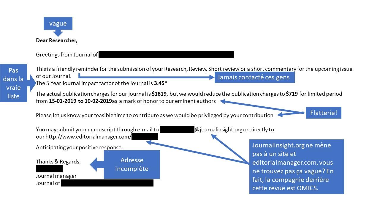 courriel frauduleux